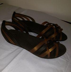 Crocs Sandals size 9W